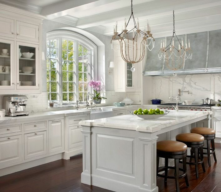 18 design samples with white kitchen cabinets mostbeautifulthings for French kitchen design