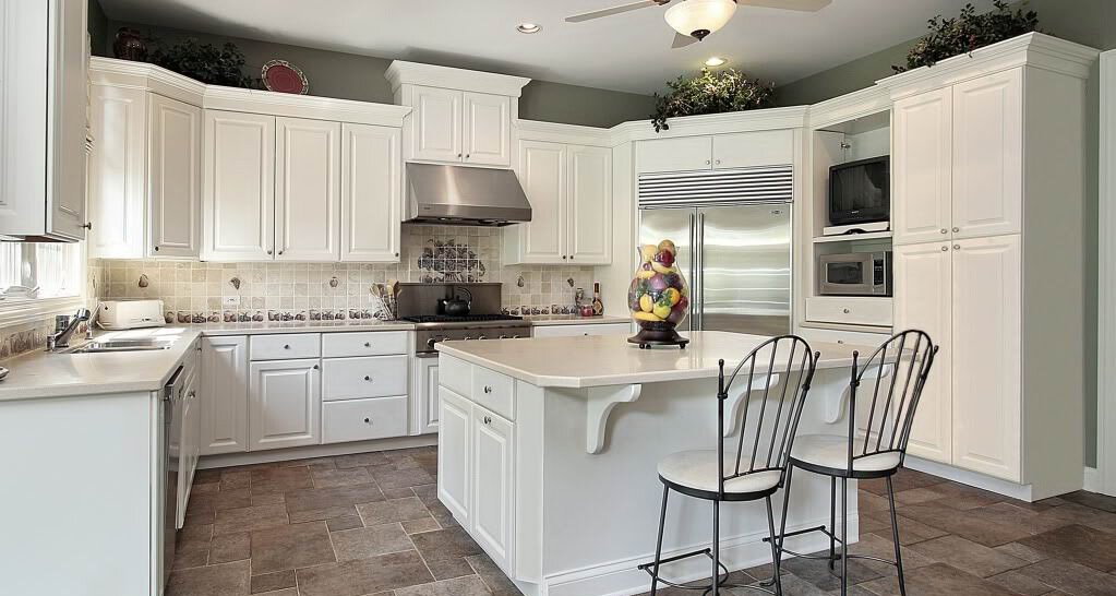 White Kitchen 2014 18 design samples with white kitchen cabinets | mostbeautifulthings