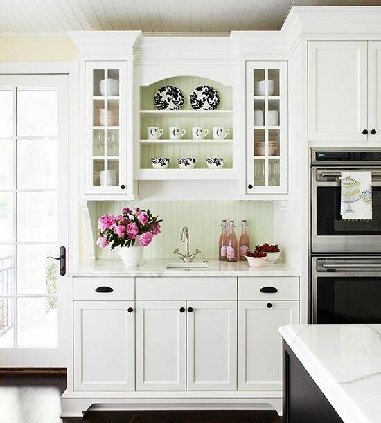 18 Design Samples With White Kitchen Cabinets