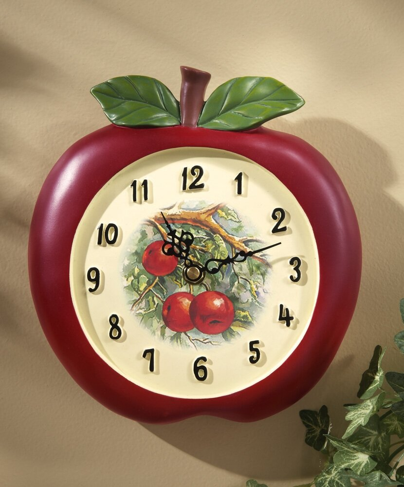 24 beautiful kitchen wall clocks mostbeautifulthings kitchen wall clocks 8 amipublicfo Image collections