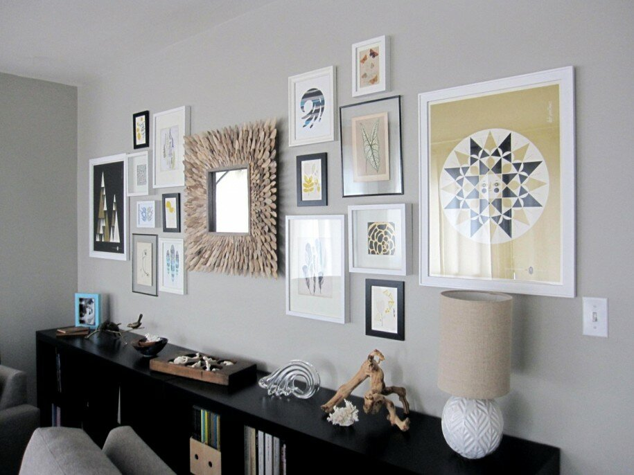 23 Frame Decor Exles For Living Room Mostbeautifulthingsrhmostbeautifulthings: Decorative Frames For Living Room At Home Improvement Advice