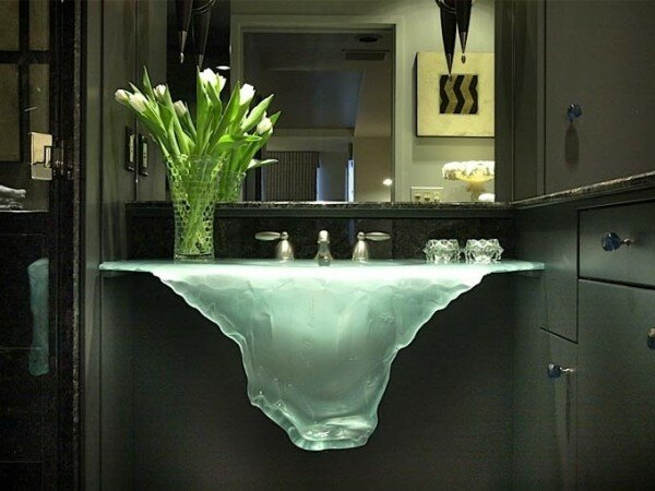 futuristic bathroom ideas