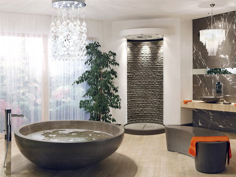 Top 19 Futuristic Bathroom Designs | MostBeautifulThings