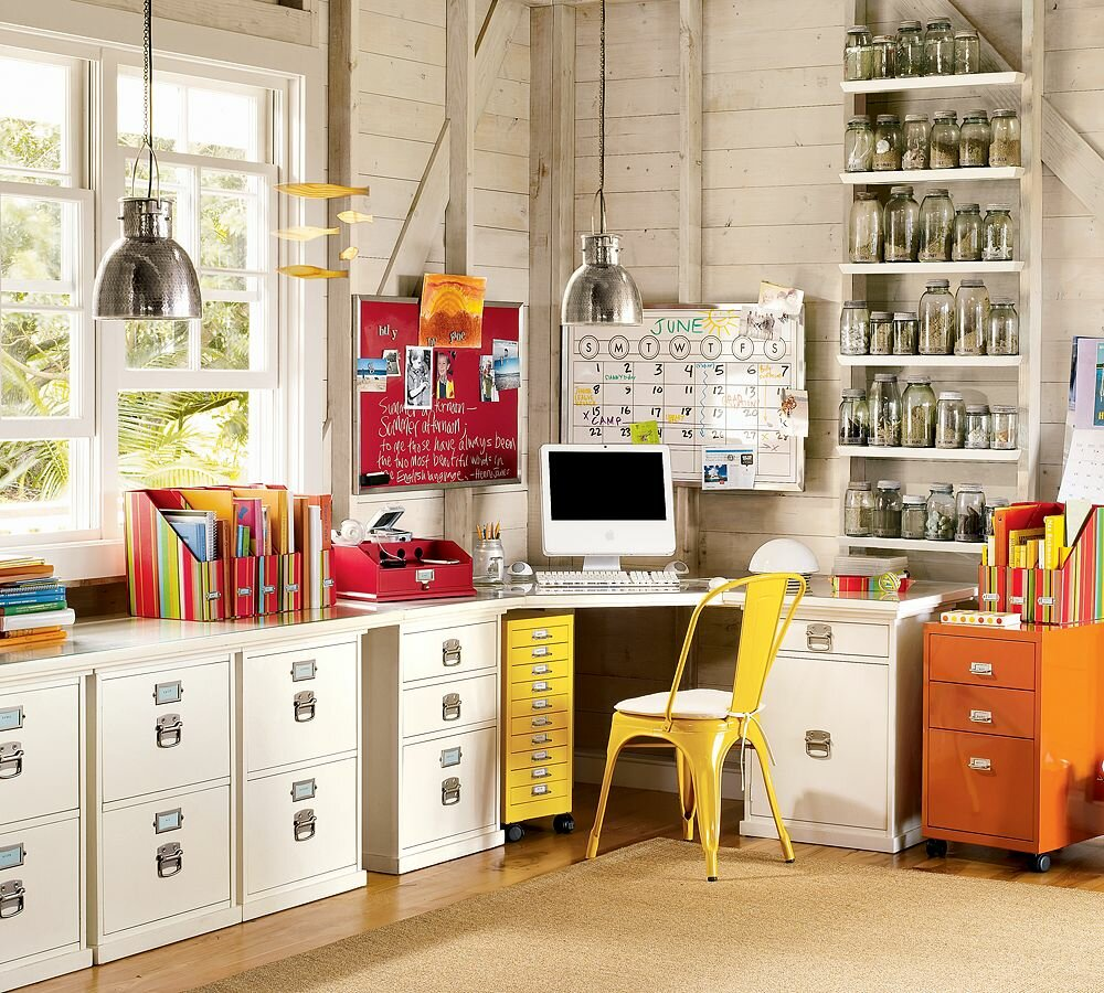The 18 best home office design ideas with photos for Office decoration pictures gallery