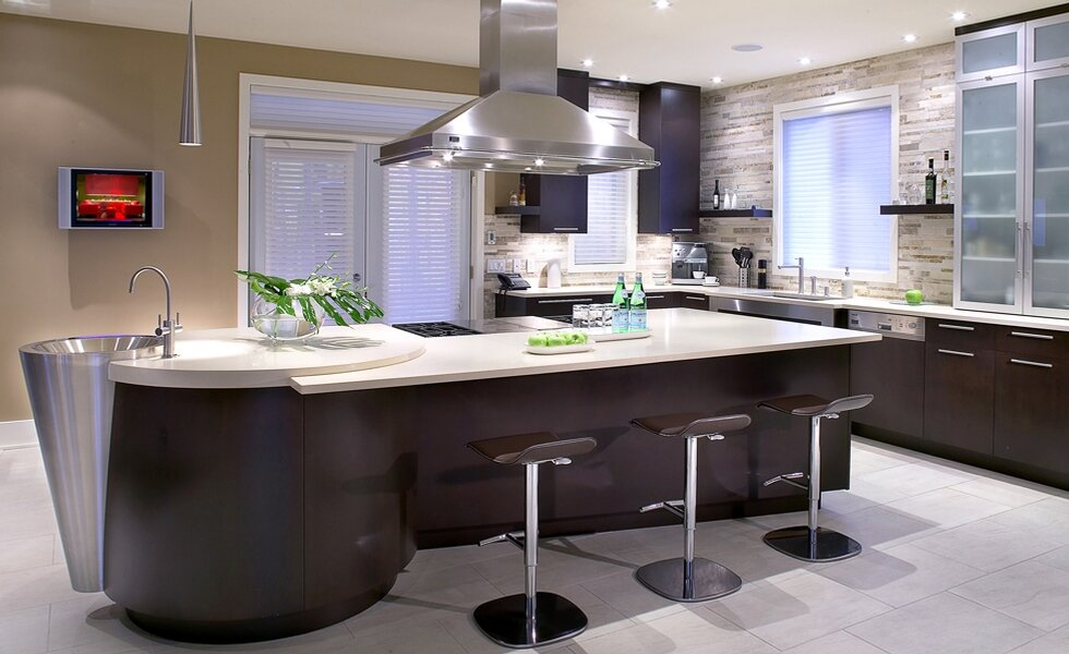 The 22 most beautiful kitchen cabinet designs for The most beautiful kitchen designs