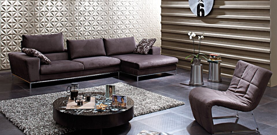 The 17 most beautiful corner sofa designs mostbeautifulthings for Most beautiful living room furniture