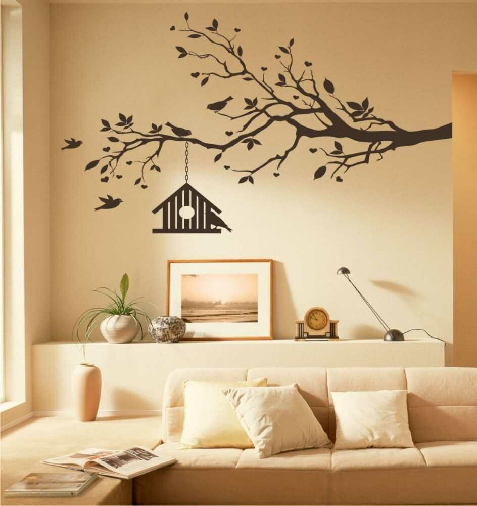 the 15 most beautiful wall stickers mostbeautifulthings. Black Bedroom Furniture Sets. Home Design Ideas