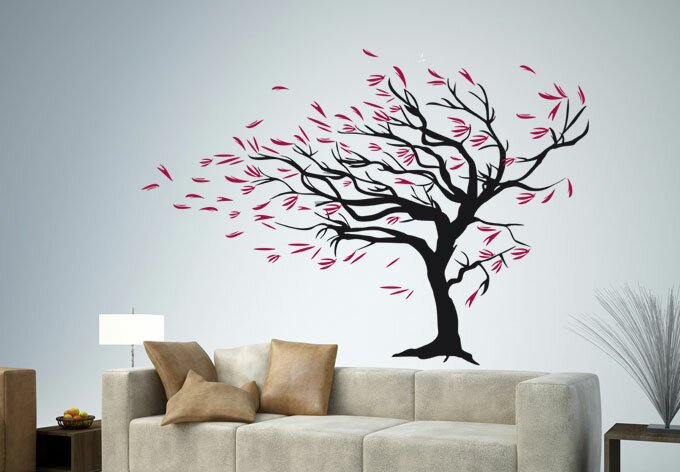 Wall sticker designs and wall sticker ideas