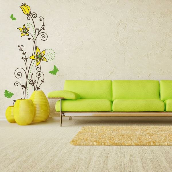 The 15 most beautiful wall stickers mostbeautifulthings - Stickers para decorar paredes ...