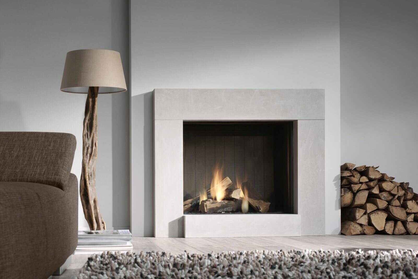 top 15 trendy and modern fireplace designs