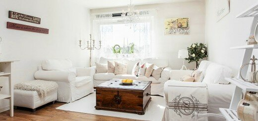white home design and photos