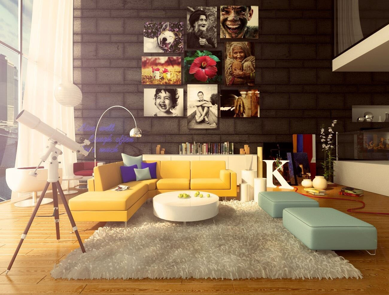 Bring color to your home 4