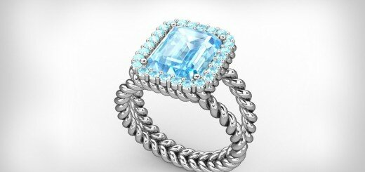 aquamarine engagement rings 16