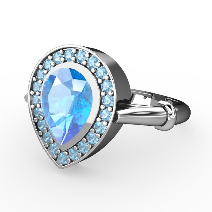 Aquamarine Engagement Rings Meaning Aquamarine Engagement Rings 5