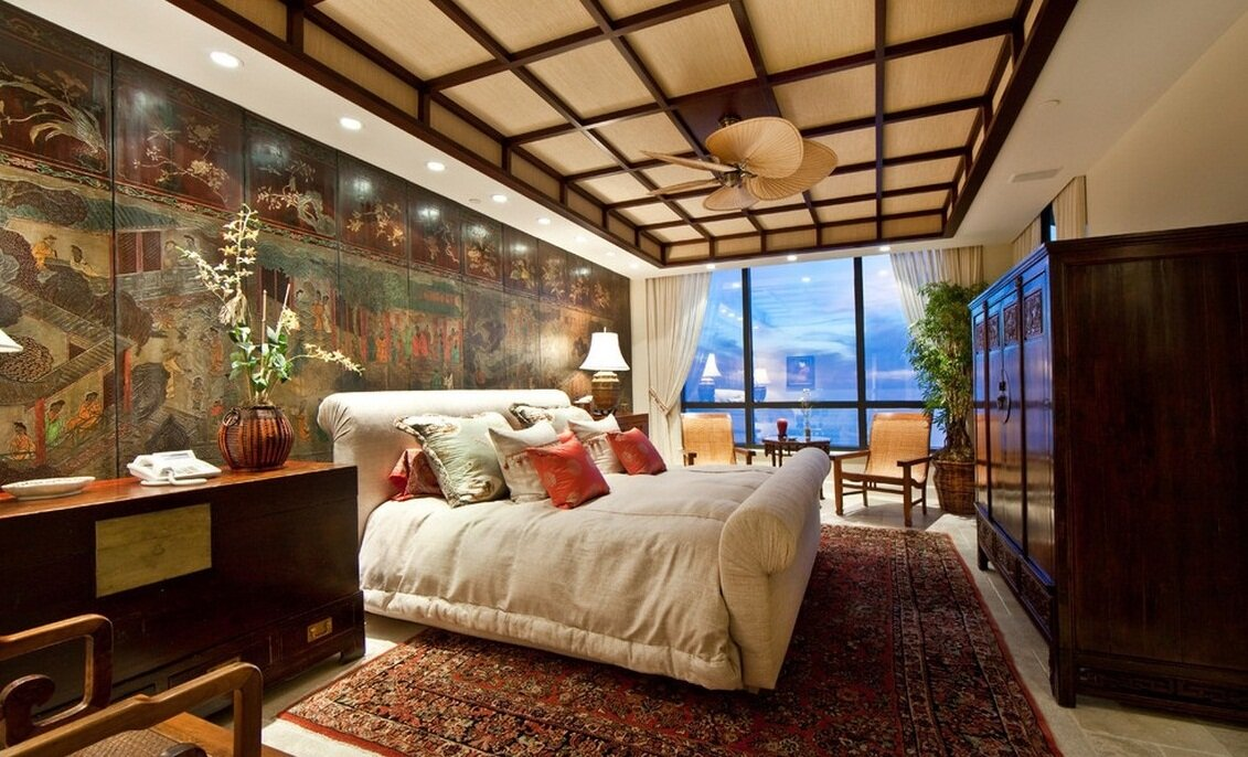 Asian decor ideas in 15 inspiring examples for Japanese bedroom ideas