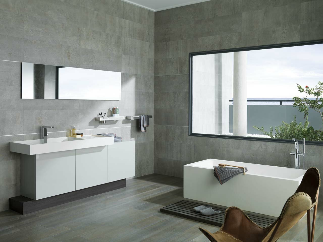 18 examples of latest bathroom designs mostbeautifulthings for Muebles italianos modernos