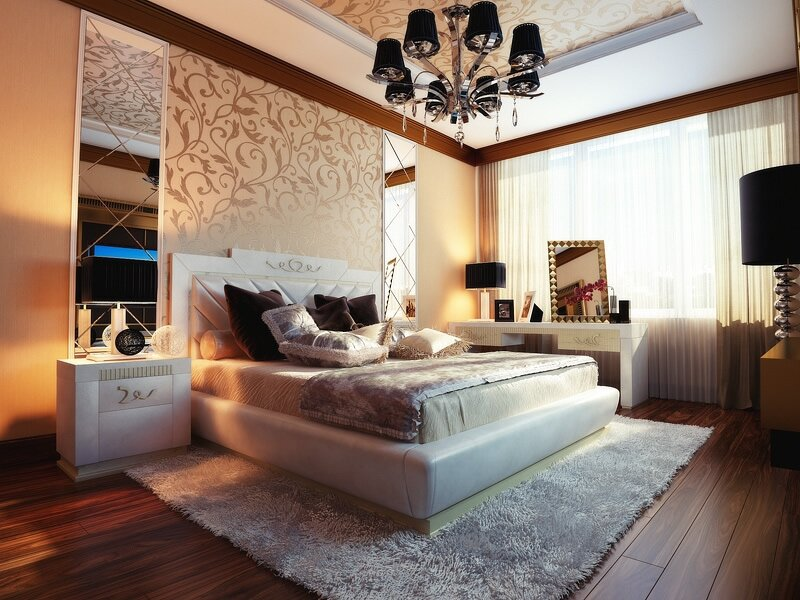 21 beautiful bedroom designs in different types for Schlafzimmer interior design