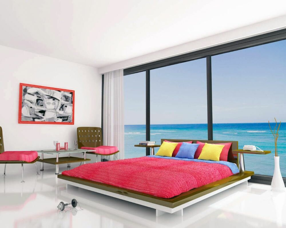 21 beautiful bedroom designs in different types for Wonderful bedroom designs