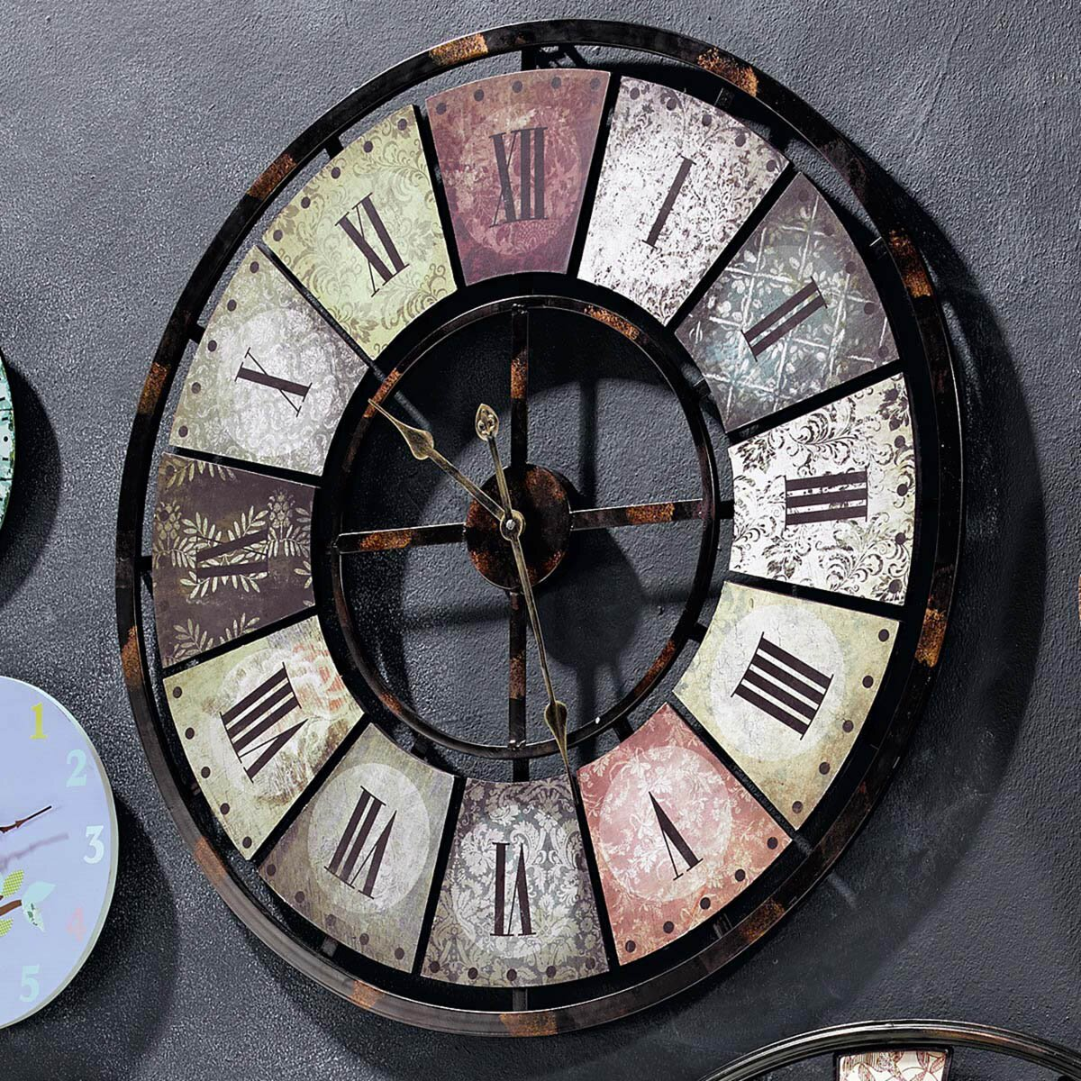 Top 17 Big Wall Clock Designs MostBeautifulThings