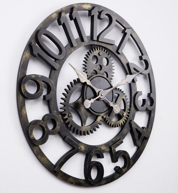 Top 17 Big Wall Clock Designs | MostBeautifulThings