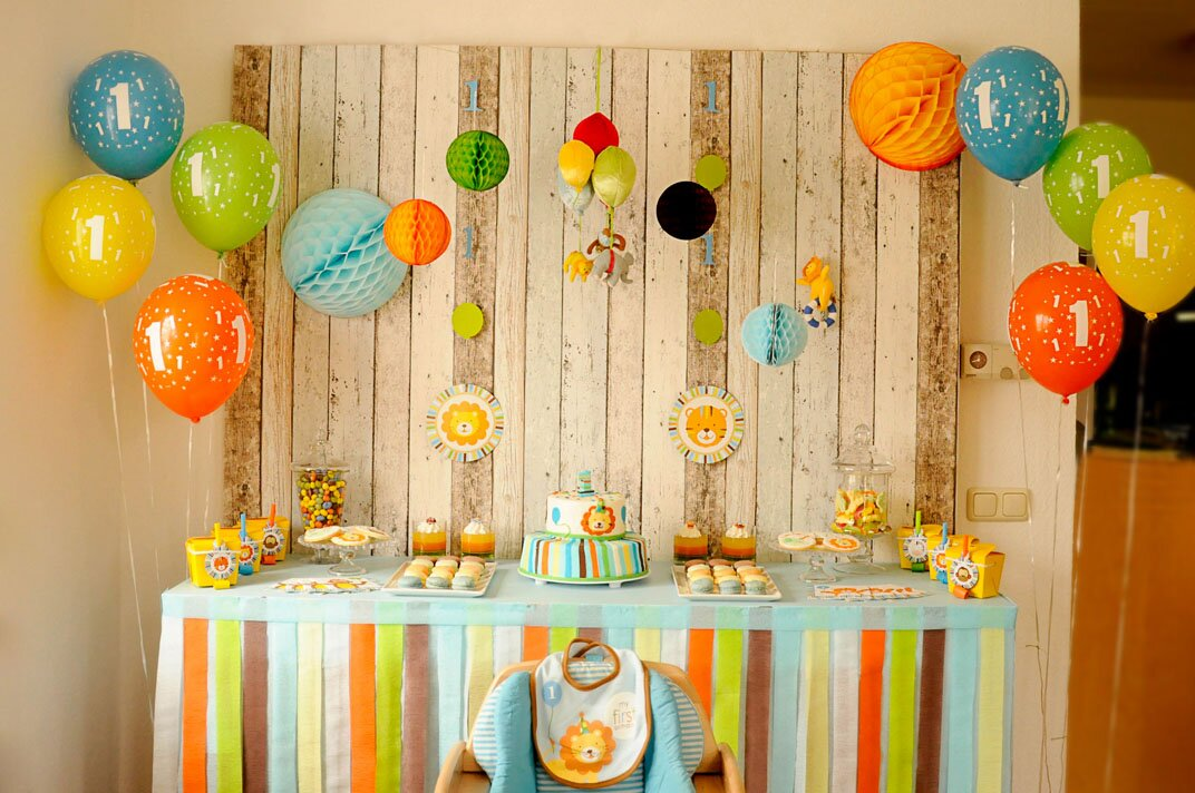 18 inspiring birthday party decorations mostbeautifulthings for Net decoration ideas