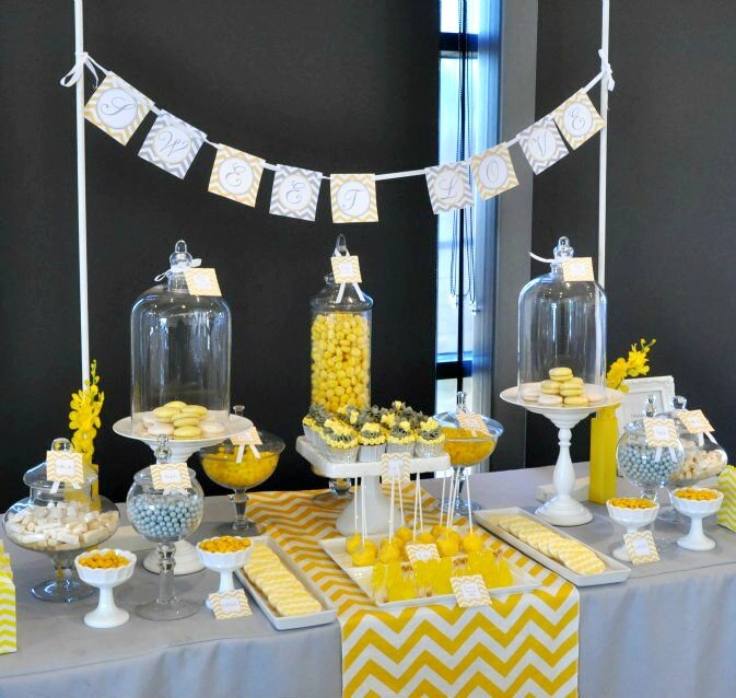 19 really beautiful bridal shower decorations mostbeautifulthings - Idee deco baby shower ...