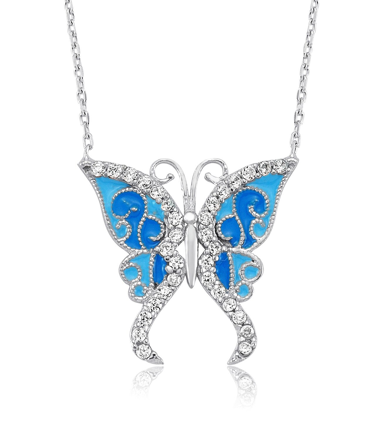 butterfly necklace 13