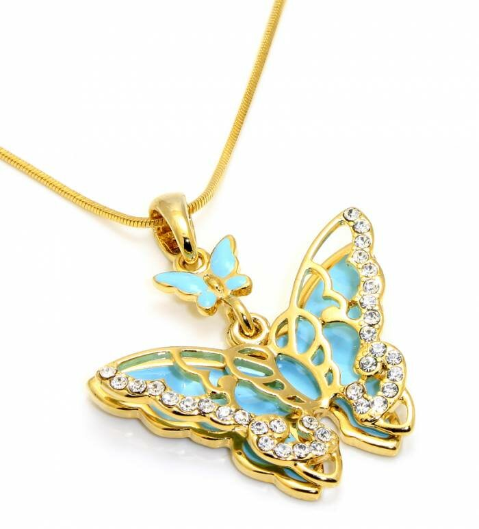 butterfly necklace 16