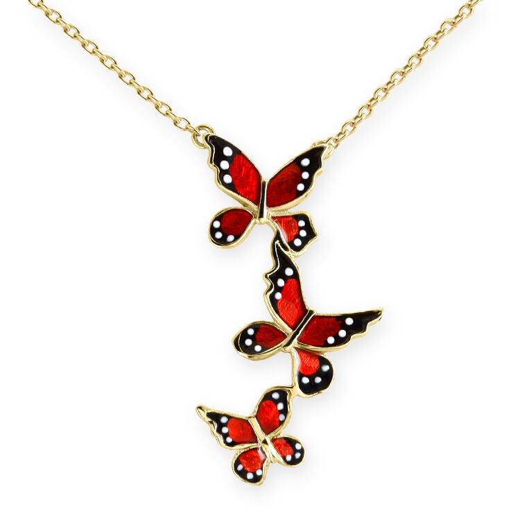 butterfly necklace 4