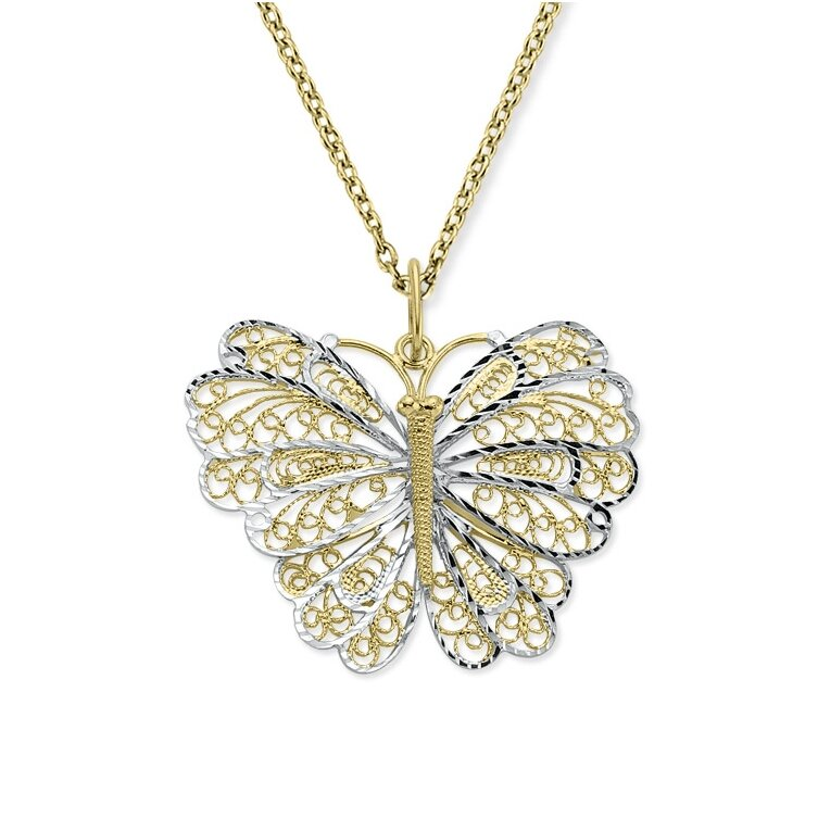 butterfly necklace 8