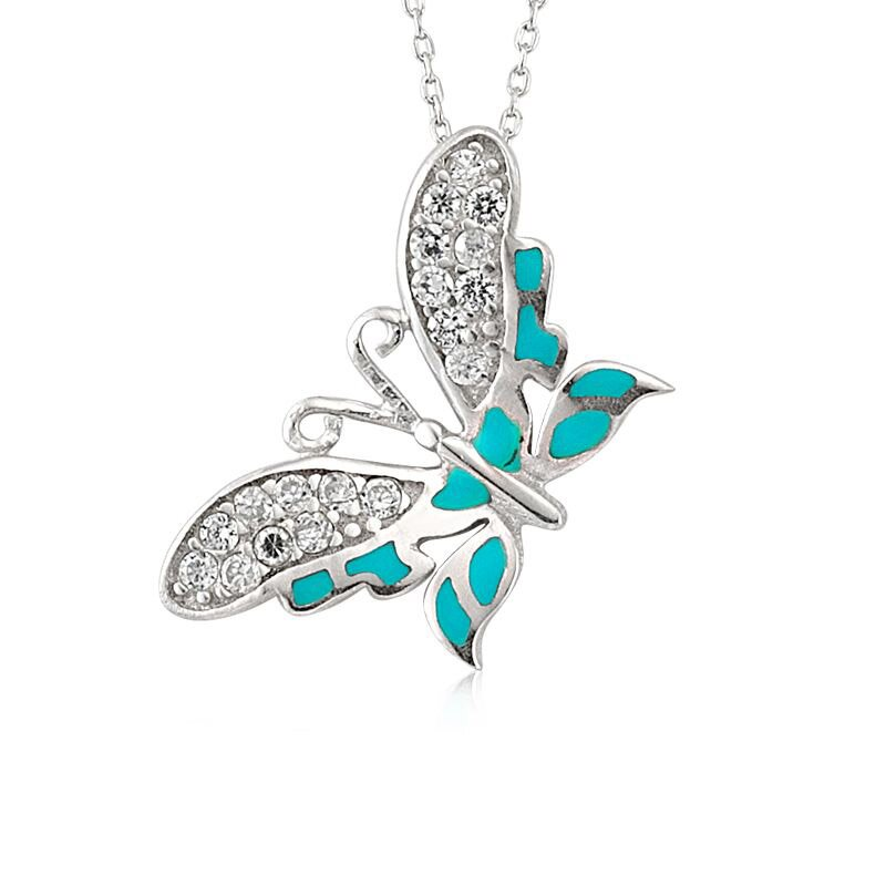 butterfly necklace 9