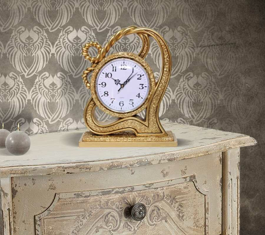 Decorative Table Clock Examples In 17 Photos