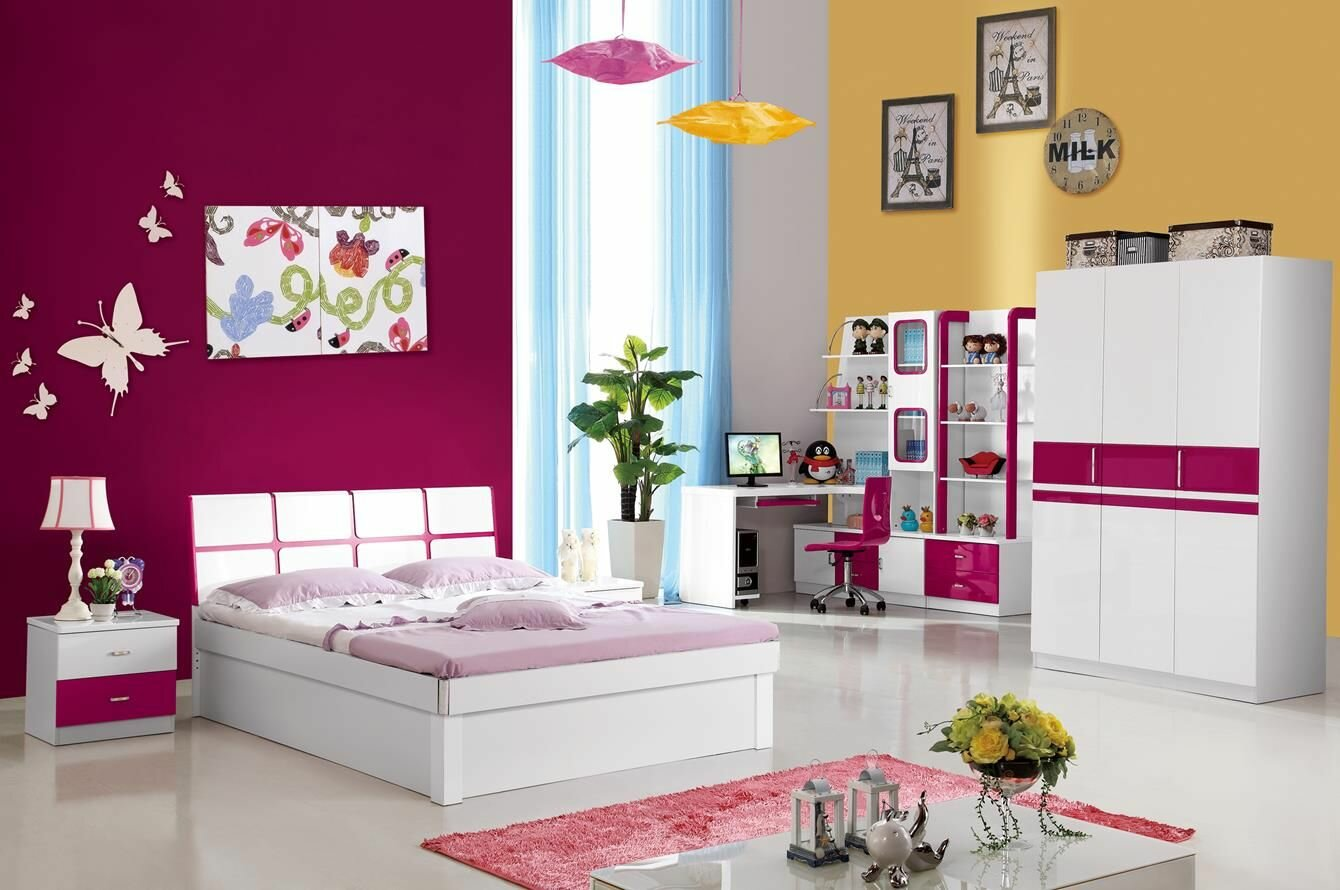 19 great girls room decor ideas with photos. Black Bedroom Furniture Sets. Home Design Ideas