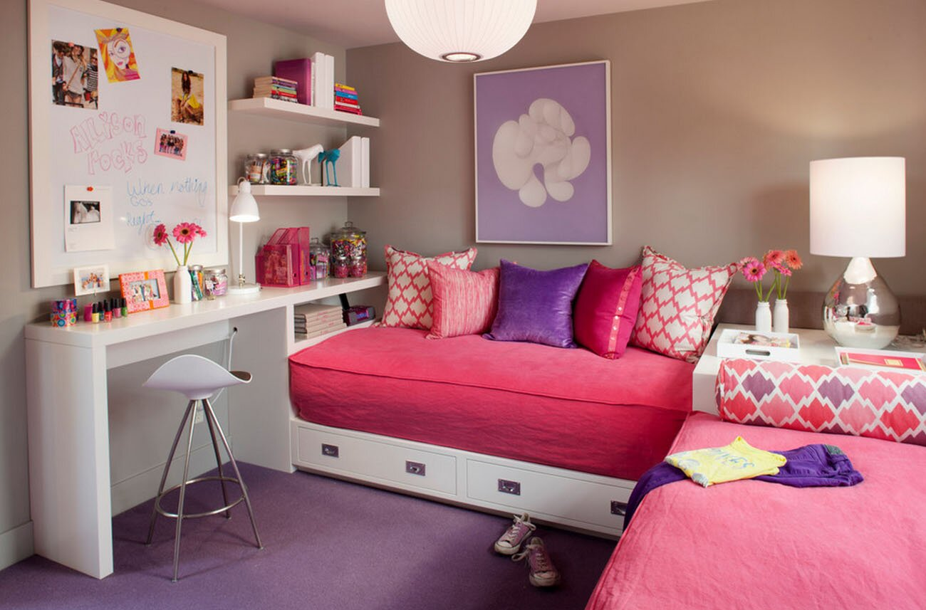 19 great girls room decor ideas with photos for Girl bedroom ideas pictures