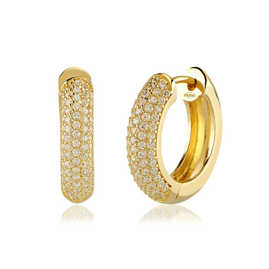 Gold Hoop Earrings 5