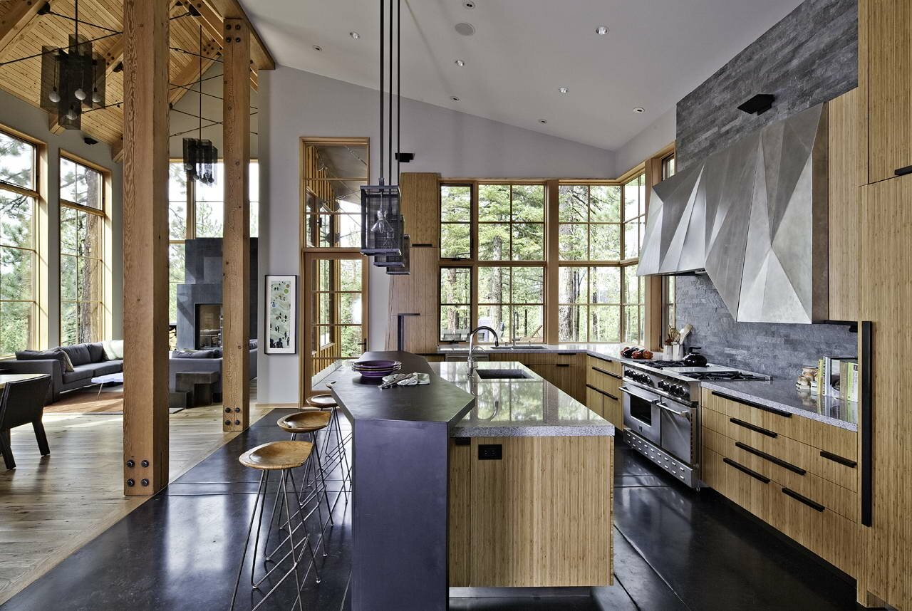18 great home interior design examples mostbeautifulthings for Interieur maison en bois