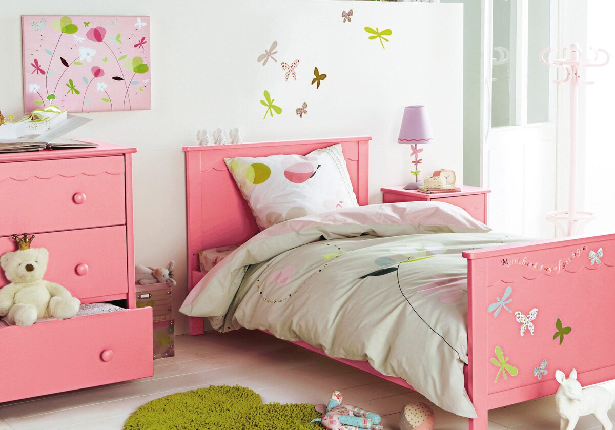 15 nice kids room decor ideas with example pics for Childrens bedroom wall designs