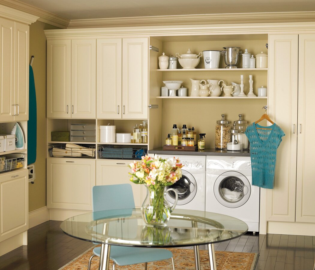 Top 16 laundry room decor ideas with photos - Decorating laundry room ideas ...