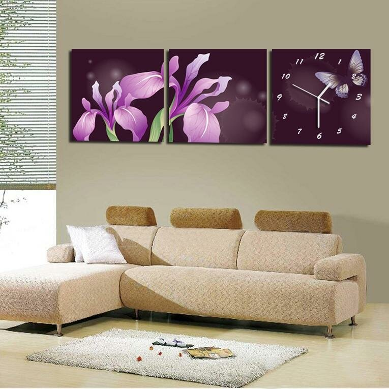 Wall clocks for living room 19 modern living room wall for Living room wall clocks