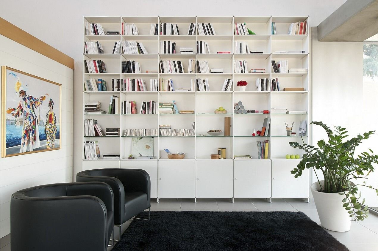 White Wall Units For Living Room 16 examples of wall decorations for living room | mostbeautifulthings