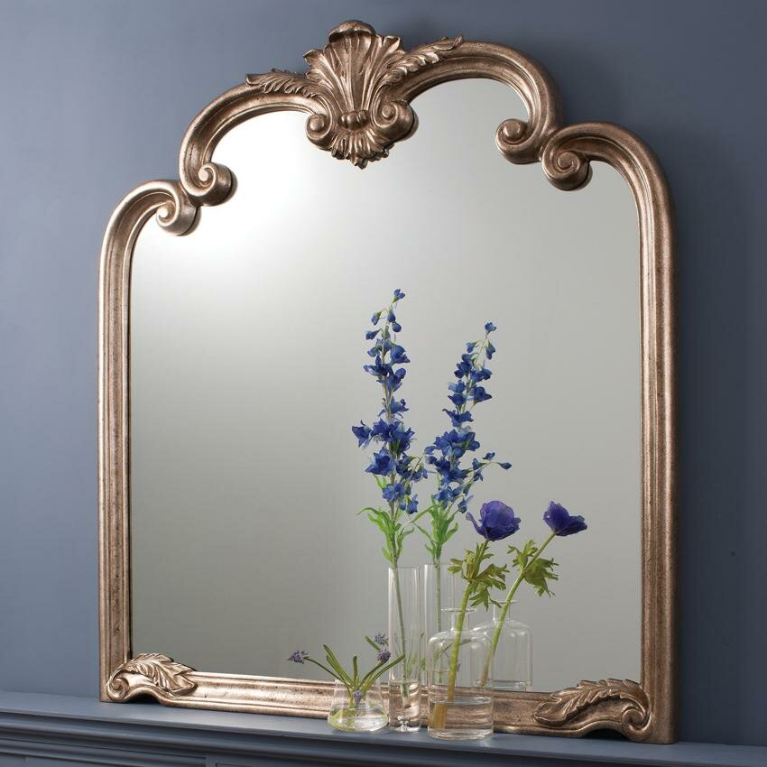 15 beautiful wall mirror designs mostbeautifulthings for Framed wall mirrors