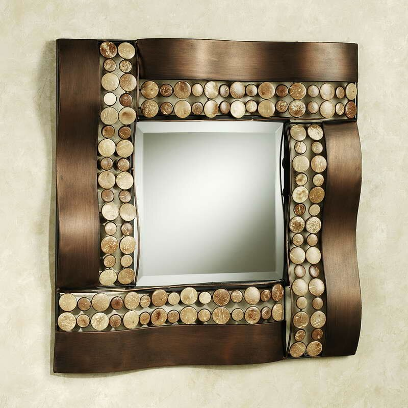 15 beautiful wall mirror designs mostbeautifulthings for Wall mirror design