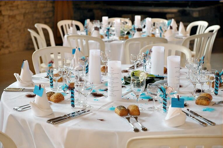 16 wedding decorations that will inspire you - Deco table blanc ...