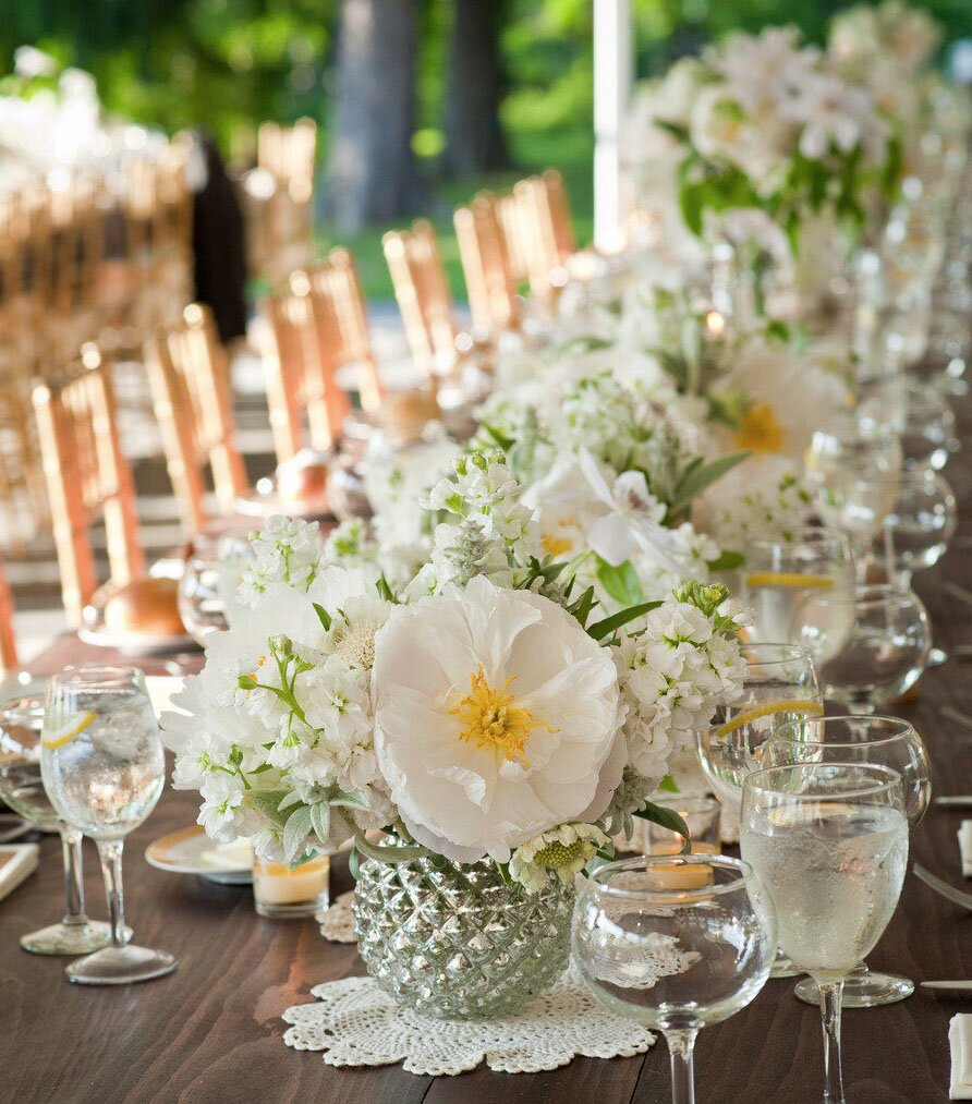 Top wedding reception decorations with photos