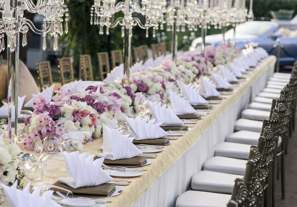 Top 15 examples of wedding table decorations for The best wedding decorations