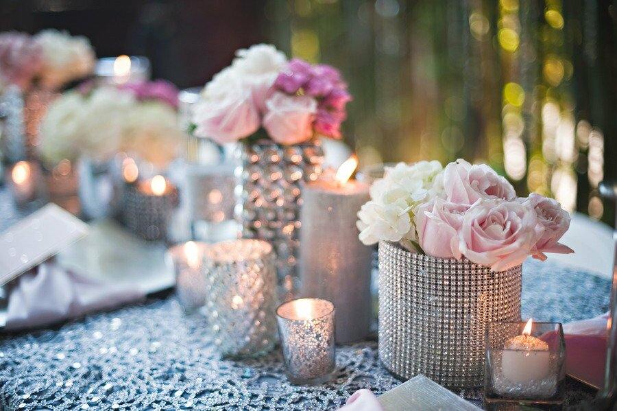 top 15 examples of wedding table decorations. Black Bedroom Furniture Sets. Home Design Ideas