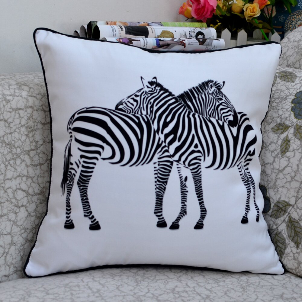 Nice zebra print decor ideas in 16 photos for Animal print decoration