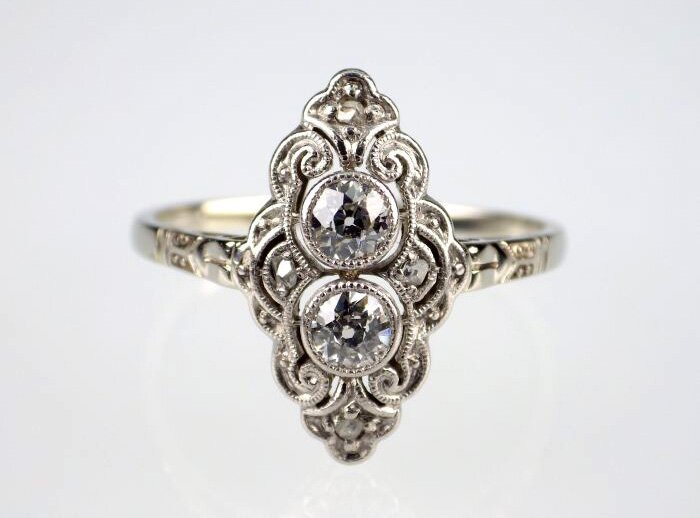 antique engagement rings 2