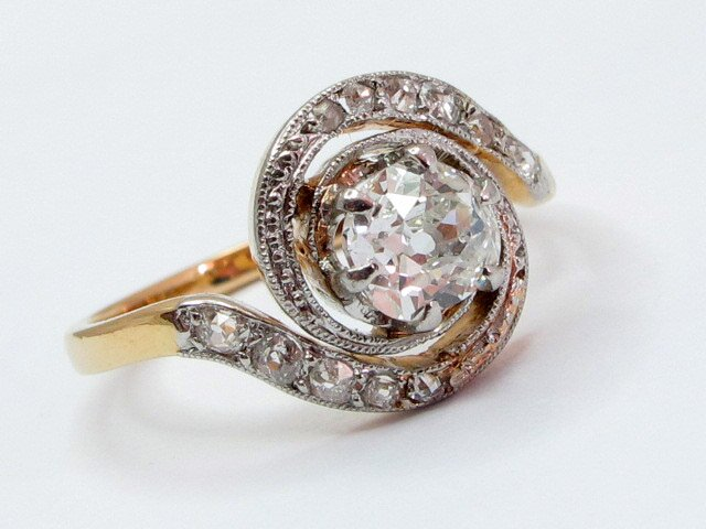 antique engagement rings 5