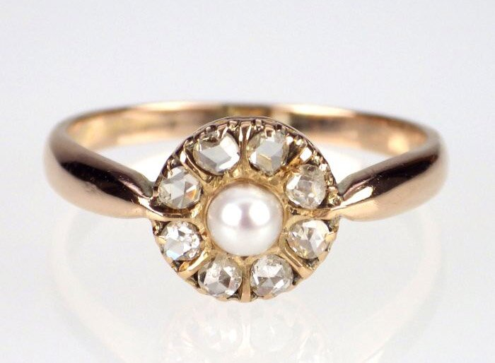 antique engagement rings 7